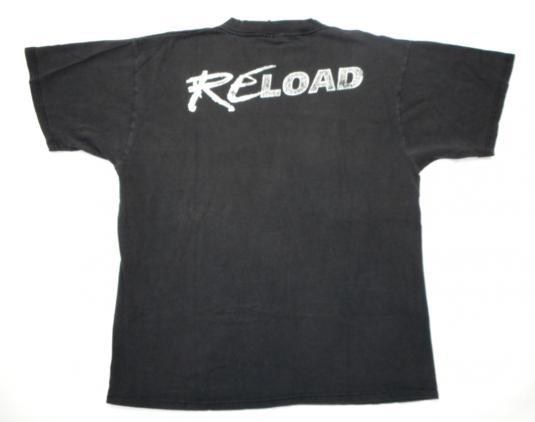Metallica 90's ReLoad Tour Vintage T Shirt Concert