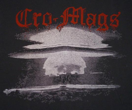 Cro-Mags Vintage T-Shirt Original 80's