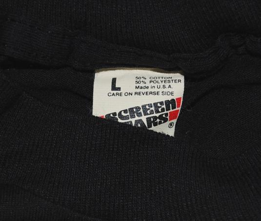 vintage JOE MONTANA autograph bank black t-shirt football