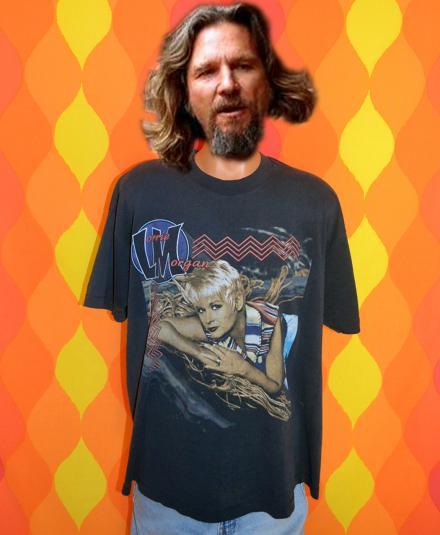 vintage LORRIE MORGAN concert country music tour t-shirt XXL