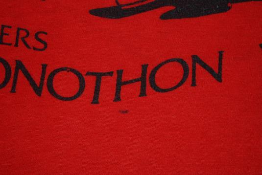 vintage RUTGERS university phon-a-thon t-shirt r. crumb 1980
