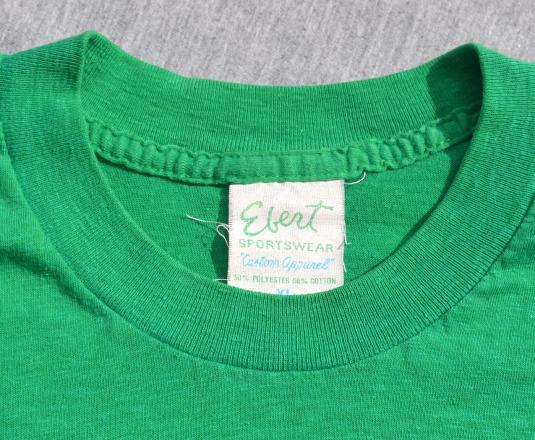 vintage 70s golf CADDY mayflower lpga indianapolis t-shirt L