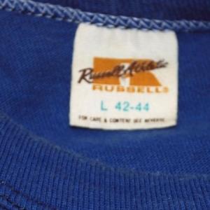 vintage BELMONT corp baseball softball uniform t-shirt