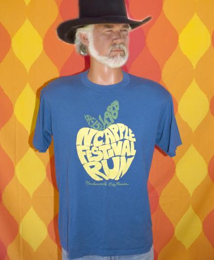 vintage APPLE festival hendersonville nc carolina t-shirt