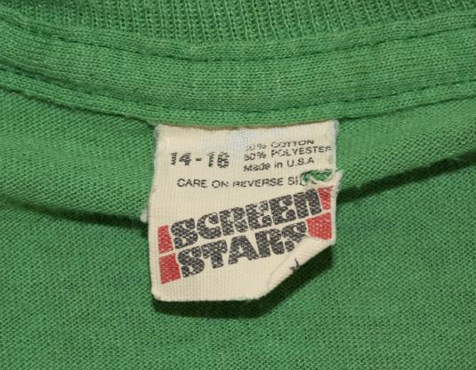 vintage t-shirt REYNOLDS asheville all star little league nc
