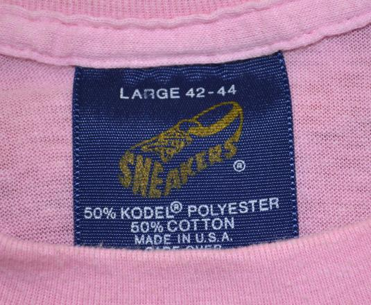 vintage PUNK penguins cleveland ohio pink funny t-shirt 80s