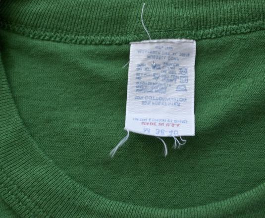 vintage notre dame IRISH green st patricks day t-shirt 80s
