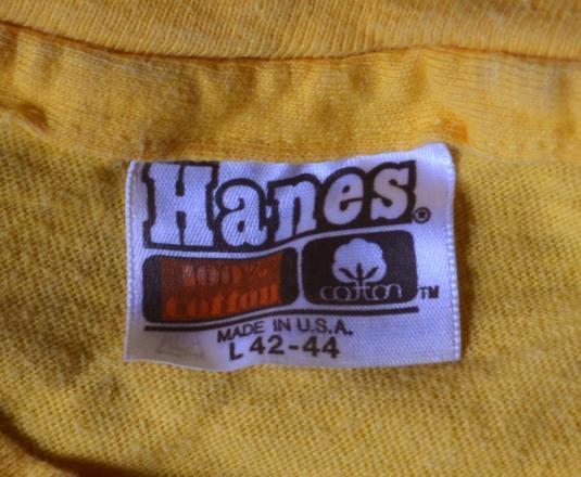 vintage 1982 PEACHTREE road race atlanta t-shirt coke bud