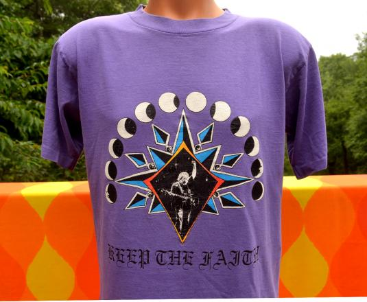 vintage JERRY GARCIA band grateful dead t-shirt 80s jgb rock
