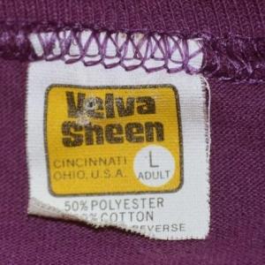 vintage HOUSTON texas purple rainbow longhorns t-shirt