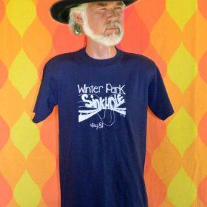vintage 1981 winter park SINKHOLE florida nature t-shirt