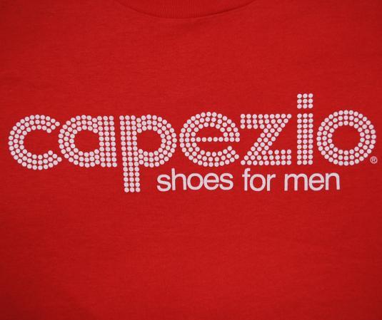 vintage CAPEZIO dance jazz shoes for men t-shirt red funny