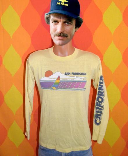 vintage SAN FRANCISCO california long sleeve t-shirt 1981