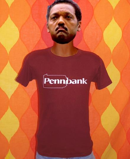 vintage PENNBANK pennsylvania bank money t-shirt soft 80s