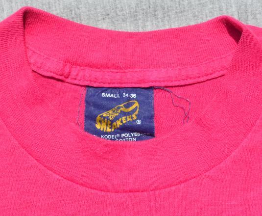 vintage SUPER DANCE flashdance charity t-shirt 80s