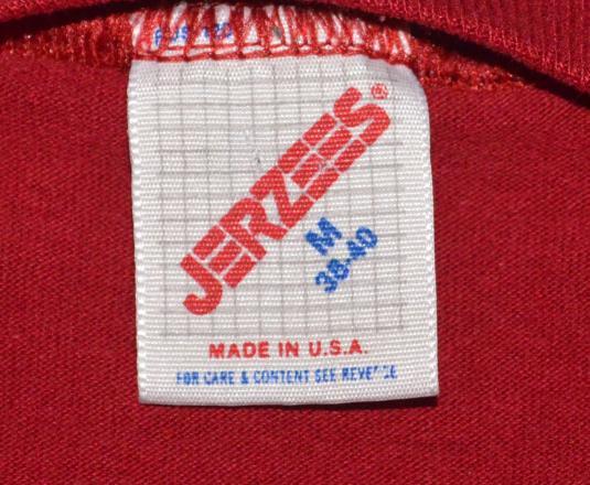 vintage 80's USC university south carolina gamecocks t-shirt