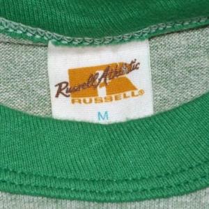 vintage tri-blend GREEN RIVER heathered ringer t-shirt 70s