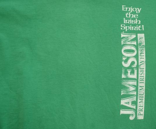 vintage JAMESON whiskey irish spirit t-shirt st patricks day