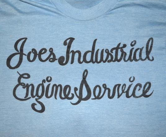 vintage JOE'S engine service pontiac michigan t-shirt 70s S
