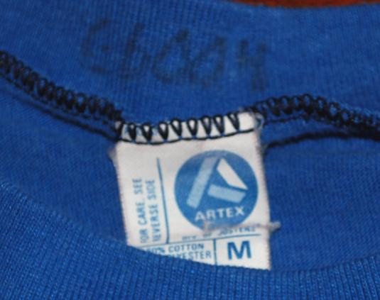 vintage USAF air force 3723 BMTS key to future t-shirt blue