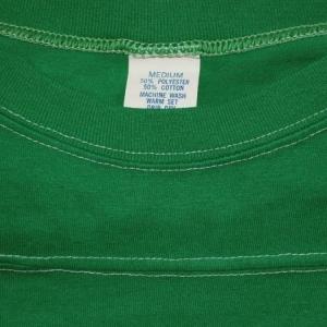 vintage F-TROOP football jersey JEAN green t-shirt funny