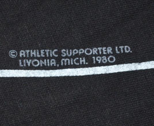 vintage TUXEDO tux formal black tie novelty t-shirt 1980