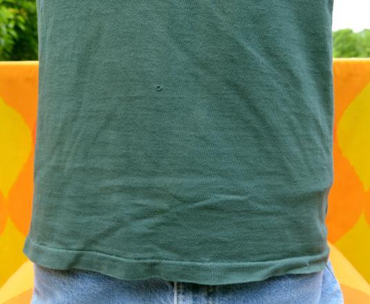 vintage GREEN BAY packers nfl football t-shirt logo 7 80s