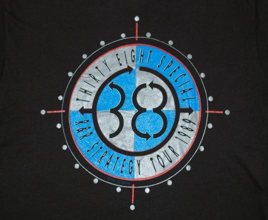 vintage 38 special rock band concert music tour t-shirt 80s