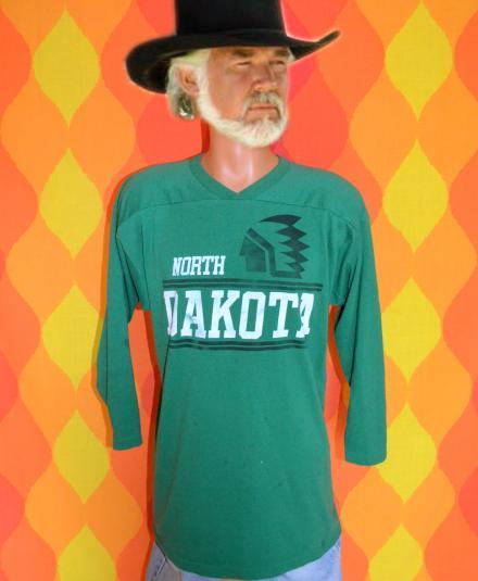 vintage und university NORTH DAKOTA fighting sioux t-shirt