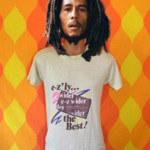 vintage E-Z WIDER rolling papers 420 marijuana grass t-shirt