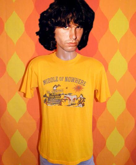 vintage EL CENTRO tourist t-shirt california 70s san diego
