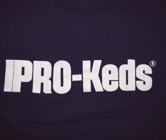 vintage PRO-KEDS sneakers shoes t-shirt hip hop 70s