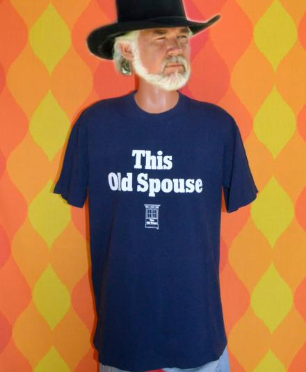 vintage THIS OLD SPOUSE house funny pbs tv t-shirt 80s