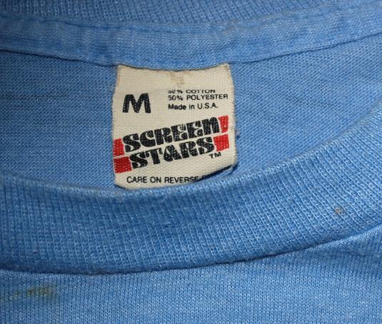 vintage 1984 summer OLYMPICS preschool funny t-shirt LA
