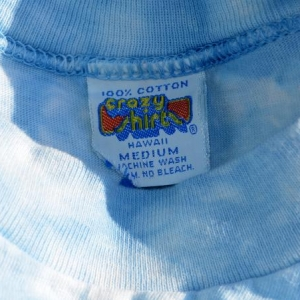 vintage 1975 rather be SAILING crazy shirts hawaii tie dye