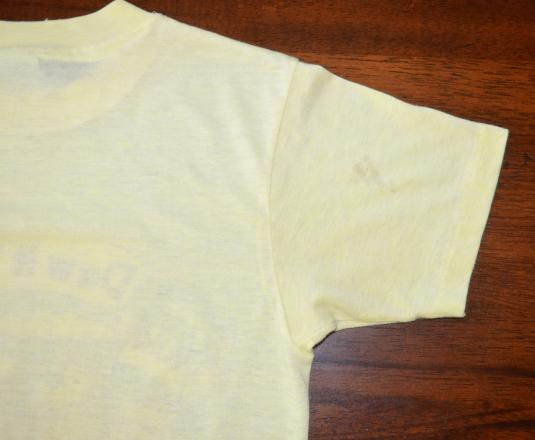 vintage MOUNTAIN DEW asheville north carolina soda t-shirt