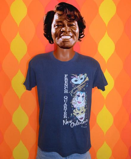 vintage NEW ORLEANS jazz fest french quarter t-shirt 80s