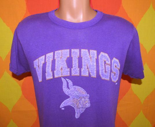 vintage minnesota VIKINGS nfl team football t-shirt 80s