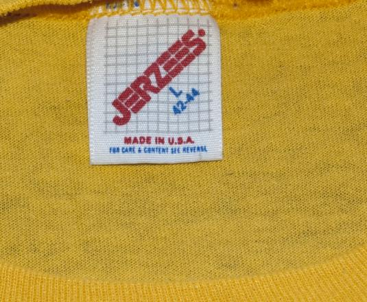 vintage dupont SAFETY brevard north carolina t-shirt 80s
