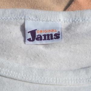vintage JAMS original surfline shorts t-shirt 70s 80s surf