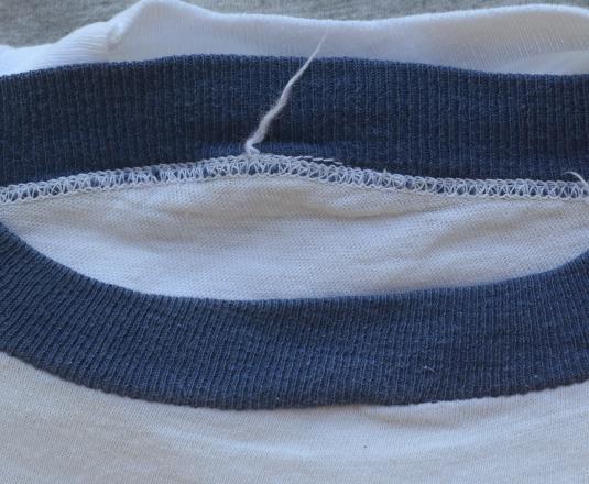 vintage 1973 WATERGATE richard nixon scandal ringer t-shirt