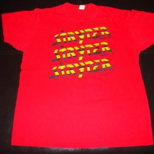 Vintage Stryper Soldiers Under Command Tour T-Shirt