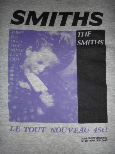 Vintage THE SMITHS Le Tout Nouveau T Shirt