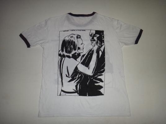 Vintage Sonic Youth Goo European T Shirt Raymond Pettibon 19