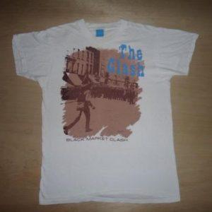Vintage THE CLASH Black Market Clash 1980 T Shirt