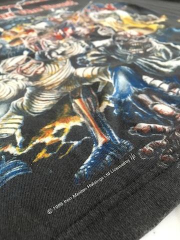 """Awesome 90s Iron Maiden """"Best Of The Beast"""" shirt"""