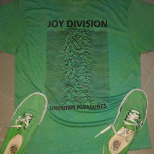 Vintage 1980s JOY DIVISION Promo shirt