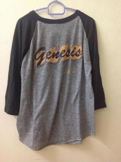 vintage genesis tour 1983-84 t-shirt