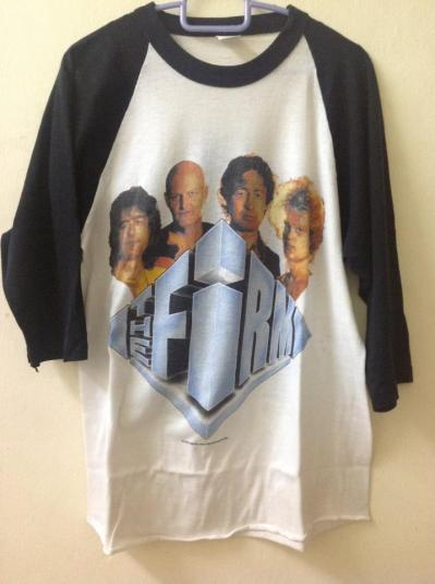vintage the firm 1985 shirt