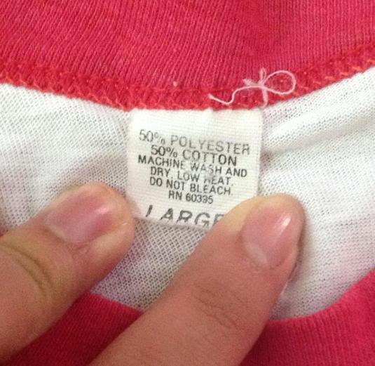 Vintage DARYL HALL + JOHN OATES 1983 H2O Tour T-Shirt